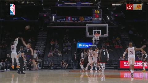 NBA/半場18記三分球破紀錄 太陽主場射下火箭