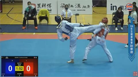 劉威廷196公分優勢 決賽一分未失奪金牌
