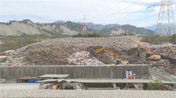 草屯7萬噸垃圾山自燃悶燒三天 水利署補助3億移除 民眾盼改建環保公園