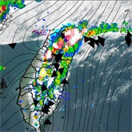 水來了!多到國家級警報狂響 北北基5縣市「大雷雨警訊」