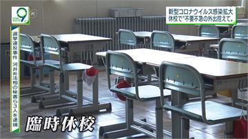 武漢肺炎/日本停課學生趴趴走 約聘老師沒工作
