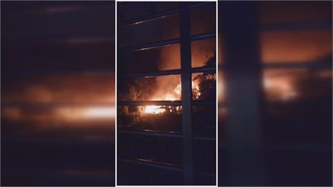 北市象山附近工寮起火 民眾:煙味很濃不舒服