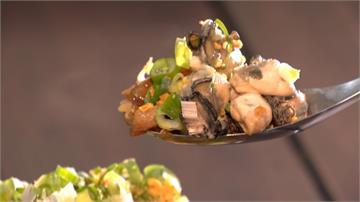 鮮蚵堆到像小山!滷肉飯變身海陸蓋飯