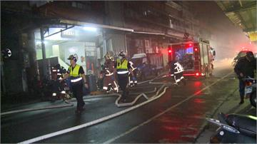 三重工廠凌晨祝融 7名住戶一度受困