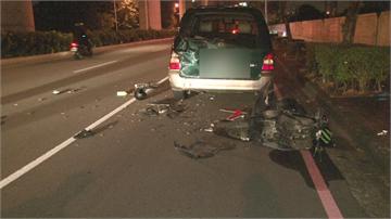 休旅車拋錨「違停紅線」   26歲酒駕騎士撞上慘死