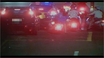 烤肉後酒駕上路!醉駕駛連環撞5輛汽機車肇逃又再撞