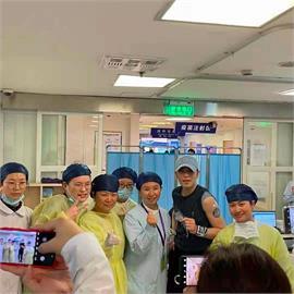 蕭敬騰「在中國」打疫苗?經紀人證實:在上海同仁醫院打《國藥》疫苗