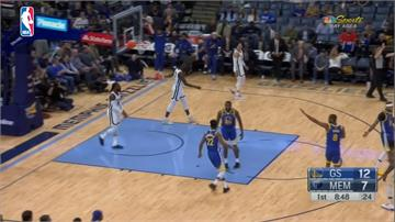 NBA/勇士客場終止7連敗 甜瓜返NBA首戰攻10分