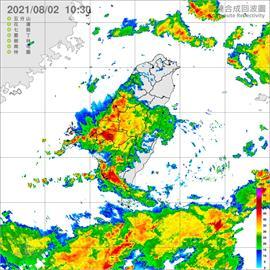 全台10縣市嚴防豪大雨 中彰雲嘉列淹水警戒