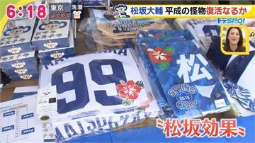 松坂大輔高人氣 個人商品銷售額超越年薪