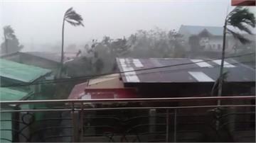 強颱「天鵝」橫掃菲律賓呂宋島 至少10死
