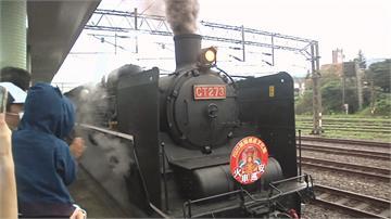 蘭陽媽祖文化節巡安之旅 88尊神像坐火車!還繫上安全帶