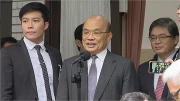內閣改組傳聞不斷 總統府強烈駁斥中媒稱蘇「惡貫滿盈」 助攻2024?