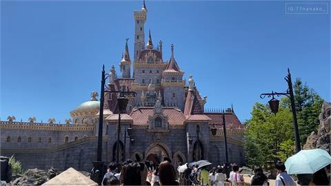 好想去日本!開箱東京迪士尼樂園新設施 美女與野獸粉紅城堡超夢幻