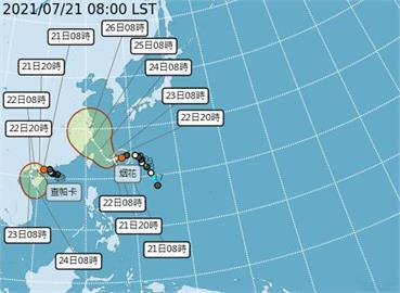 快新聞/「烟花」可能達中颱上限 預計今晚發布海警、明陸上警報