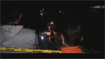 印尼蘇拉威西島金礦礦坑坍塌 仍有23人受困