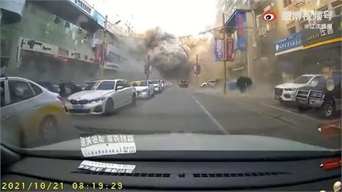 瀋陽燒烤餐廳氣爆至少3死逾30傷 喵星人被震飛...車開到一半被轟爛