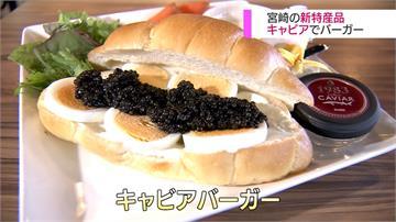 宮崎新奢華特產 魚子醬漢堡一天限量3個