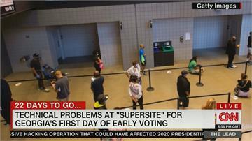 美提前投票 加州現假回收選票箱
