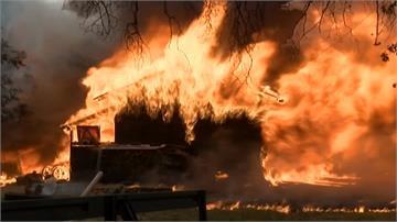 北加州野火燎原釀2死數傷 數千人撤離