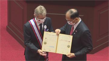 快新聞/頒韋德齊外交榮譽一等勳章 游錫堃:非常榮幸能代表國會