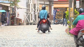 鶯歌老街花崗岩鋪面好滑!下雨天成騎士惡夢