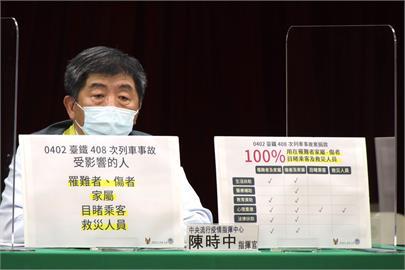 快新聞/9.6億善款最快下週發出第一筆 陳時中澄清「100%用在太魯閣號受難者」