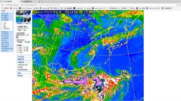 「強風軸」正對南部  西南氣流恐帶來驚人雨勢