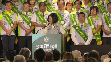 赴中彰投授旗 總統:國民黨不唱衰台灣那麼難嗎