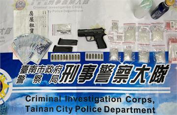 快新聞/台南藥頭設魚塭做販毒據點 警方拂曉出擊抓人起出毒品槍彈