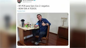 用奎寧治癒?巴西總統4篩陰性 秒摘口罩騎重機出門