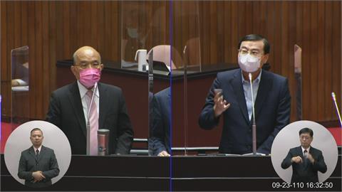 快新聞/藍委質疑為何不在中國前申請CPTPP 蘇貞昌:台灣準備很久是中國動作突兀