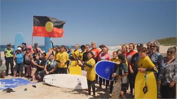 澳洲人文運動課!  結合衝浪與原民文化