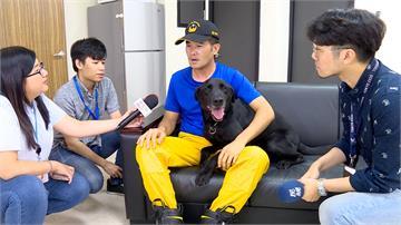 曾參與台南、花蓮地震救難 搜救犬「宙斯」退役找新家
