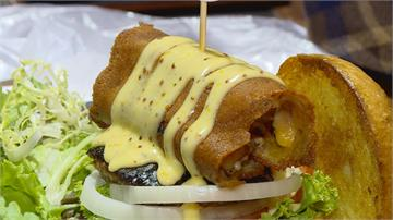 軟殼蟹當內餡、乾煎起司捲煙燻牛肉美式漢堡升級 征服「漢堡控」的味蕾!