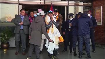 尼泊爾登山隊攻上K2 返國獲總理親自接見
