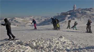 波士尼亞降雪量不足 渡假村造雪機度危機