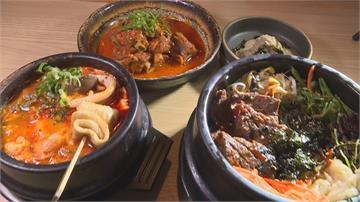 韓式烤牛排結合傳統石鍋拌飯 一人定食單身也滿足