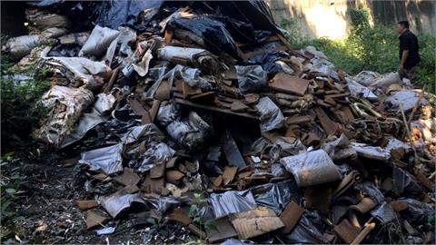 國有林班地被亂倒廢棄物 業者遭重罰30萬