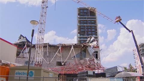 比利時興建中小學突倒塌 釀5工人死.9傷慘劇