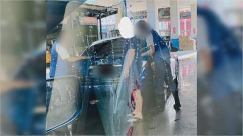 百元洗車! 特斯拉車主指揮工讀生 網友怒了