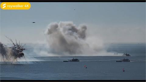 全球/武力攻台更進一步?共軍「越海奪島」演練畫面曝光