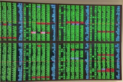 台股量縮失守半年線 土洋對作金融面板股