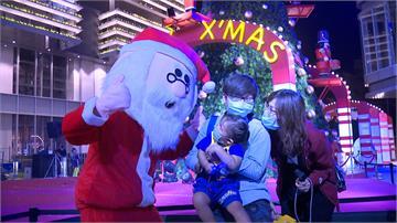 公益點燈關懷弱勢 12米高耶誕樹照亮黑暗