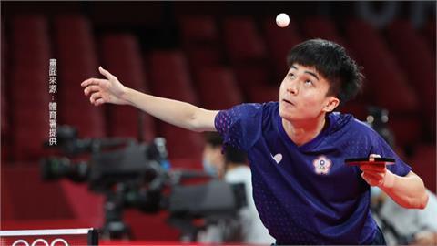 錯過四個賽末點 林昀儒錯失桌球男單銅牌