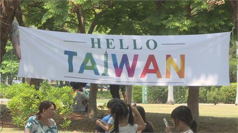 Hello Taiwan復活節移師高雄 各國家庭齊聚一堂