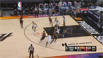 NBA/籃網三巨頭剩哈登出賽 狂轟38分逆轉勝太陽