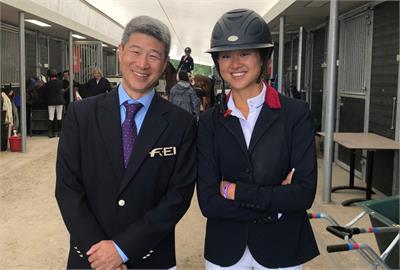 東奧/首度踏上奧運殿堂!    陳少曼挑戰台灣史上首面馬術障礙超越賽獎牌