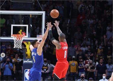 NBA/單場12記三分創紀錄!里拉德單場狂飆55分 KD:他開啟了上帝模式