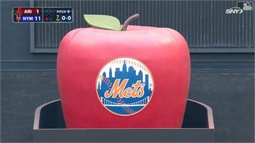 MLB/轟到招牌大蘋果一度卡住 大都會6發全壘打炸裂響尾蛇